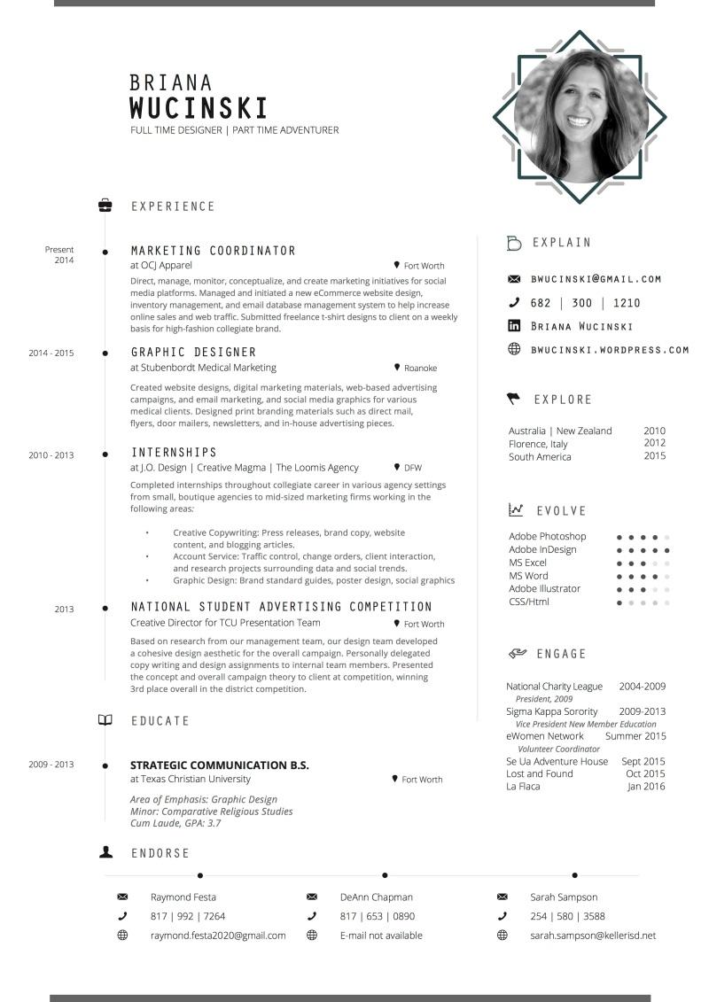 Briana Wucinski Resume